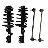 Detroit Axle - 4 Piece Front Suspension Kit for 1998-2003 Toyota Sienna