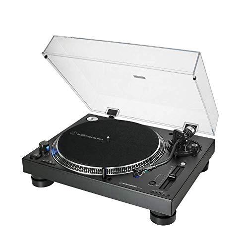 Audio-Technica - AT-LP140XP Professioneller manueller Drehteller mit Direktantrieb, schwarz