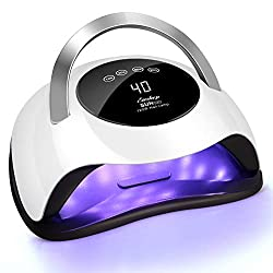 cheap EasykepFast Nail Dryer Professional Gel for Gel Polish with 120W LED Nail Lamp, 4 Timer Settings…