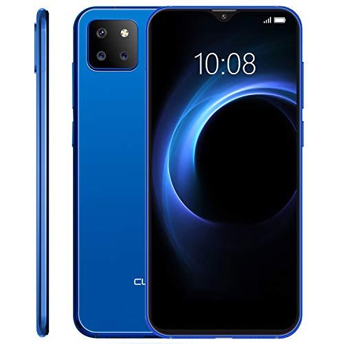 """CUBOT X20 Pro Smartphone ohne Vertrag, Handy 128GB, Dual SIM, DREI-Kamera-System, 4G dünn Handy, 6.3"""" FHD Display, 4000mAh Akku, 6GB RAM, 256 GB erweiterbar, Android 9.0 Pie, Gesichtserkennung, Blau"""