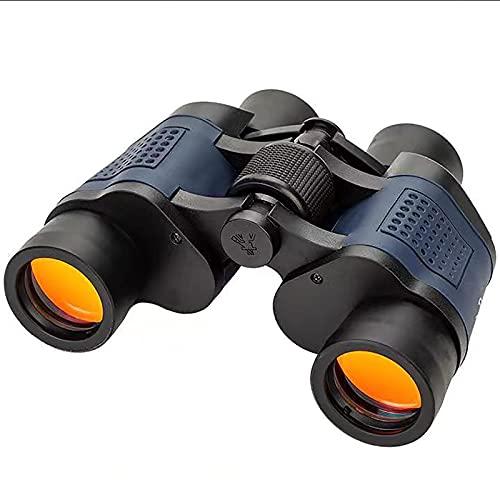 60x60 Prismáticos Golden Eagle con Película Roja De Coordenadas,Alta Ampliación HD Poca Luz Visión Nocturna Al Aire Libre-Negro 60 * 60