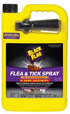 Black Flag 11093 B00PVN1ST8 Extreme Flea Killer Plus Growth Regulator RTU, 1-gal, Pack of 1, Black