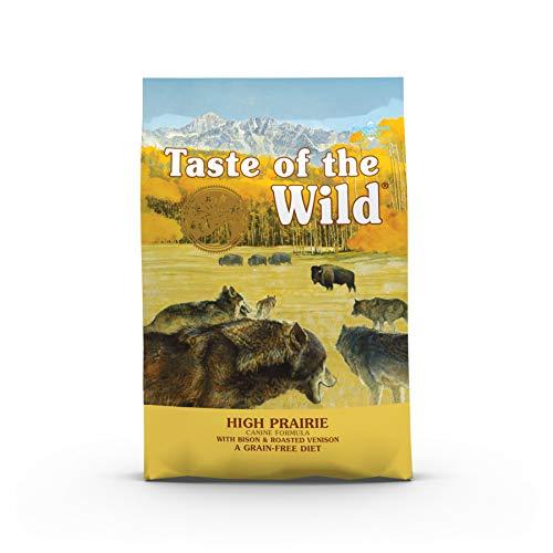 Taste Of The Wild pienso para perros con Bisonte y Venado asados 12,2 kg High prairie ✅