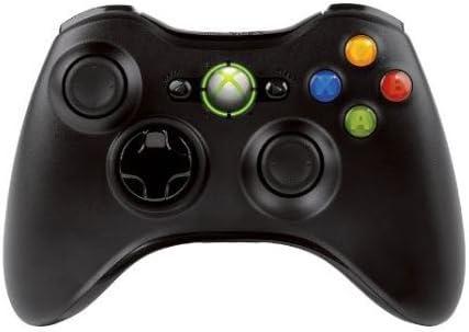 Microsoft JR9-00010 Manette Console Compatible Microsoft Xbox 360 - Noir