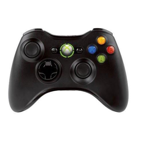 Controller Wireless Xbox 360, PC, Nero Liquido