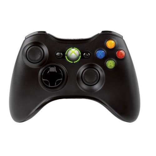 Controller Wireless Xbox 360, PC, Nero Liquido