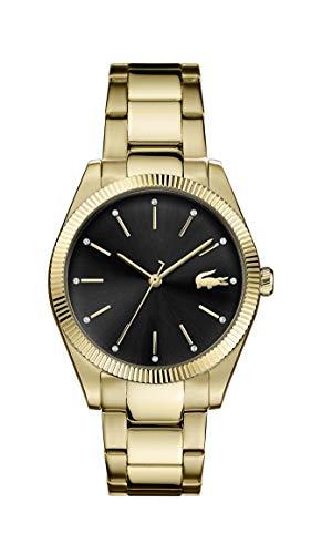 Lacoste Reloj Analógico para Mujer de Cuarzo con Correa en Acero Inoxidable 2001088