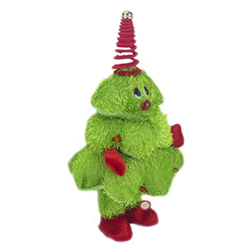 N\A sweetWU Singing Dancing Christmas Tree Toy Twerking Santa Claus Electric Xmas Gift
