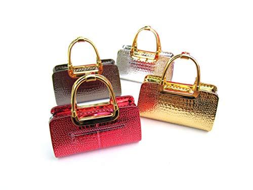 purs with lighters Handbag Shaped Lighter - Women's Refillable Novelty Butane Lighter (Dark Gray)