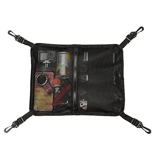 HEYTUR Paddleboard Deck Bag, Mesh Storage Bag Sup Accessories