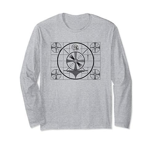 Indian Head Test Pattern Long Sleeve T-Shirt