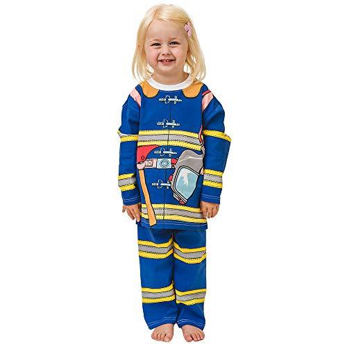 PLAY'N'WEAR Pyjamas de Pompier et vêtements d'intérieurs (3-4 Ans)