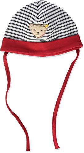Steiff Baby-Mädchen Mütze, Rot (Tango Red 4008), 49 (Herstellergröße: 049)
