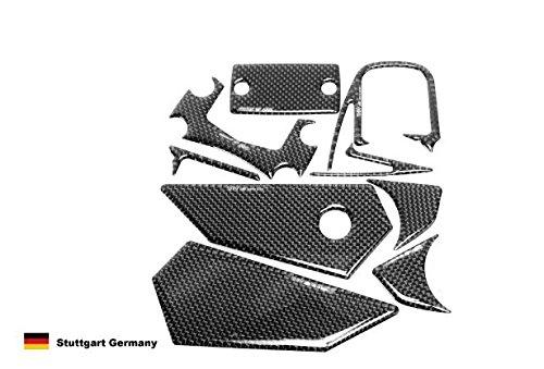 SUZUKI GSR400/GSR600用 プロテクトパッドセット カーボン調 DI-BCPP-GSR606-11