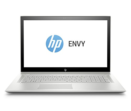 HP ENVY 17-bw0001ng (17,3 Zoll / Full HD IPS) Laptop (Intel Core i5-8250U, 1 TB HDD + 128 GB SSD, 8 GB RAM, Nvidia GeForce MX150 2GB, Windows 10 Home 64) silber