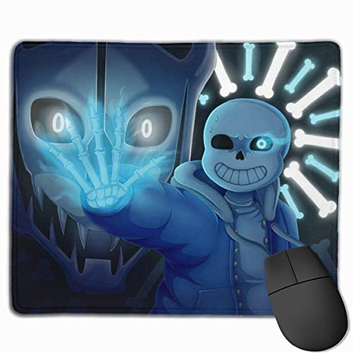 Undertale Mouse Pad Customized Mousepad Non-Slip Rubber Base Mouse Pads for Computers Laptop Office Desk Accessories 9.8 X 11.8 Inch