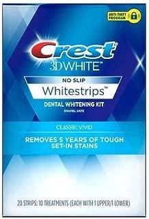 Crest 3D White Whitestrips Dental Whitening Kit Classic Vivid - 12 each, Pack of 3