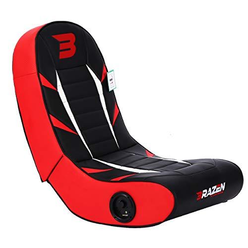 BraZen Python 2.0 Bluetooth Surround Sound Gaming Chair - Red