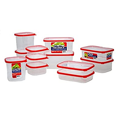 Hefty Food Storage Solutions 24 Pc Set
