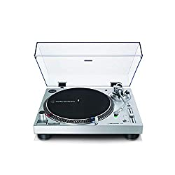 Direct-drive, DC servo motor Fully manual operation Adjustable dynamic anti-skate control Selectable 33/45/78 RPM speeds Convert records to digital files via the USB output Professional anti-resonance, die-cast aluminium platter with felt mat,AT-HS6 ...