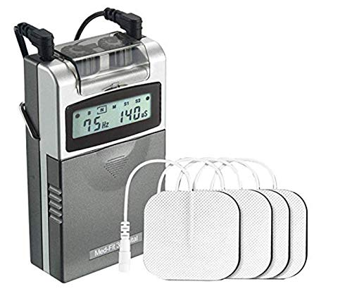 Med-Fit 3 Electrostimulador Máquina TENS digital 2 canales. Alivio rápido y eficaz del dolor. Ideal para uso en su hogar.