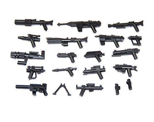 Star Wars Custom Blaster Pistole Dc-17 Grau Lego Kompatibel 20 Stück