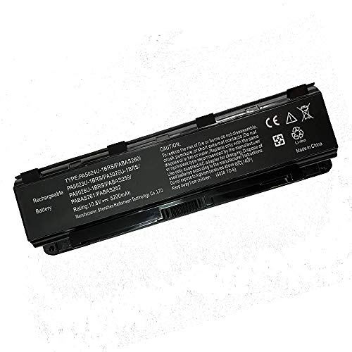 Powerforlaptop Laptop/Notebook Replacement Battery Compatible with Toshiba Satellite M800 M805 M840 M845 P800 P840 P845 P850 P855 P870 P875 PA5023U-1BRS PA5024U-1BRS PA5026U-1BRS PABAS259 PABAS260