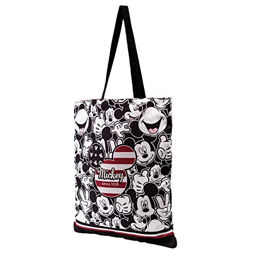 KARACTERMANIA Mickey Mouse U.S.A.-Bolsa de la Compra Shopping Bag, Multicolor