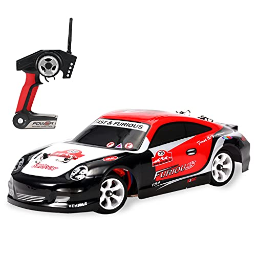 GoolRC WLtoys K969 RC Car, 1:28 Scale 2.4GHz Remote Control Car, 4WD 30KM/H High Speed RC Racing Car, Drift Car for Kids and Adults