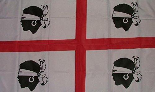 U24 vlag Sardinië oud 90 x 150 cm