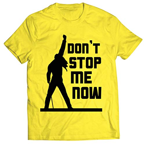 Men's Handmade Son't Stop Me Now T-shirt in Many Colours, S to 5XL
