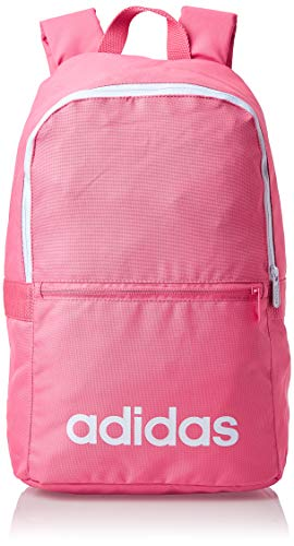 adidas Lin Clas Bp Day Sports Backpack Bliss PinkWhite NS
