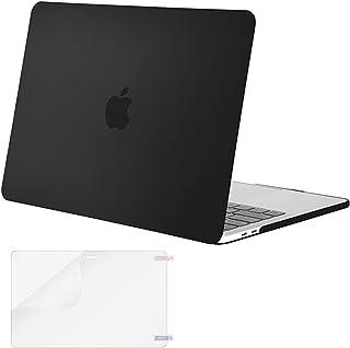 جراب Mosiso MacBook Pro 15 2017 & 2016 الإصدار A1707، جراب بلاستيك صلب مع واقي شاشة لجهاز Macbook Pro 15 بوصة مع شريط لمس ...
