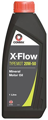 COSAN LUBRICANTS Comma xfmot1l X-Flow 20W50 Huile minérale pour Moteur 1 L