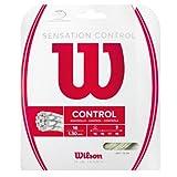 Wilson Sensation Control Cordaje de tenis, 12.2 m, unisex, natural, 1.30 mm