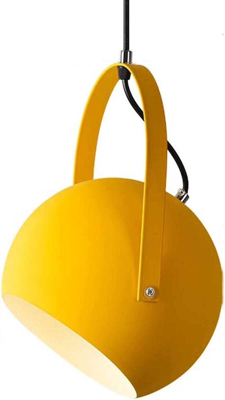 Mode Persnlichkeit E27 Pendelleuchte Kreative Kronleuchter Gelb Innen Lampe Dekoration Leuchte Runde Für Esstisch Wohnzimmer Küche Restaurant 20  27 CM