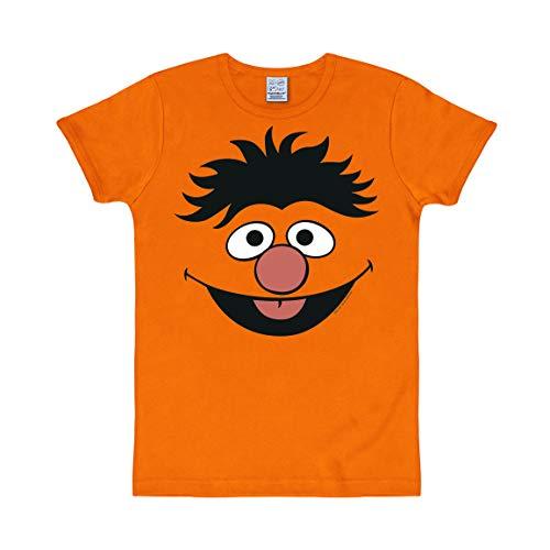 Logoshirt T-Shirt Unisex Slimfit Hellorange XXL