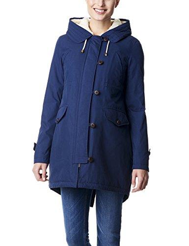 ESPRIT Maternity Damen Jacket Jacke, Blau (Navy 400), (Herstellergröße: 34)