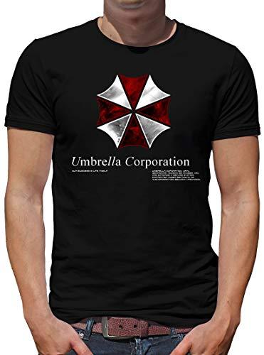 TShirt-People Umbrella Corp T-Shirt Herren M Schwarz