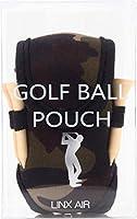 (LINX AIR) ゴルフポーチ ボールケース (スイング/迷彩)