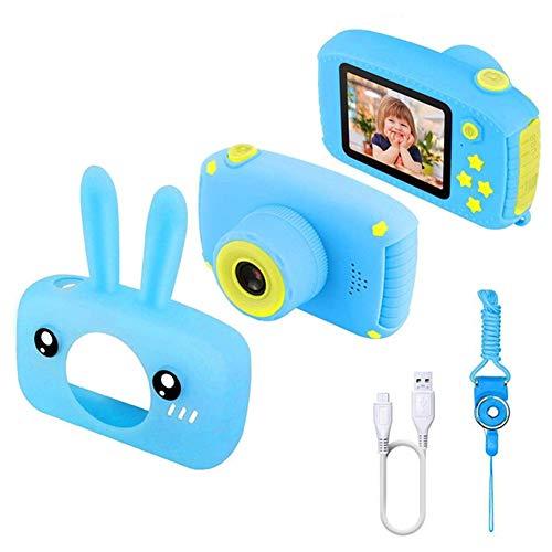 SanSiXing Útil Cámara Digital de niños útiles con grabadora de Video HD 1080P Transferencias USB Cámara de Fotos Pantalla de Pantalla de 2 Pulgadas para niños Regalo de niñas Dar un Regalo