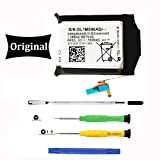 Original for Samsung Galaxy Gear S3 Frontier S3 Classic Battery Replacement, SM-R760, R760, R770, BR760, R765 EB-BR760A,EB-BR760ABE, GH43-04699A Battery, with Full Tools (2 Year Warr)