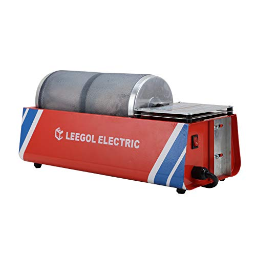 Leegol Electric Hobby Rock Tumbler Machine (Professional Double Barrel)
