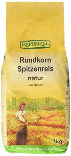 Rapunzel Rundkorn Spitzenreis, natur, 2er Pack (2 x 1 kg)