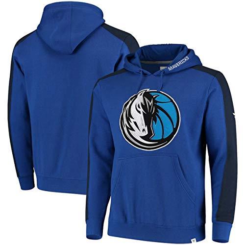SHR-GCHAO para Hombre De La NBA Sudaderas - Dallas Mavericks Baloncesto Jerseys con Capucha Casual - La Camiseta Floja,Azul,XL(175~180CM)
