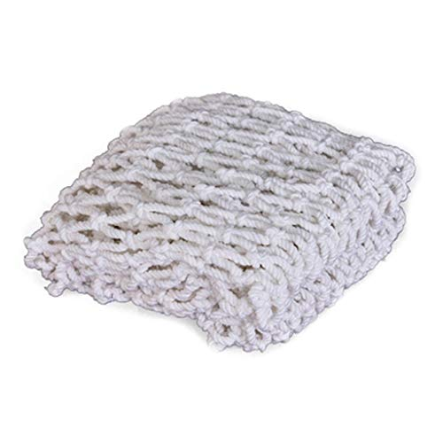 Bescherming Van De Veiligheid Henneptouw Net - White Outdoor Hennep Touw Netto Decoratieve Netto Decoratieve Wand Plafond Scheidingsnet Gordijn Trap Bescherming Net (size: 6mm Rope, 10cm Hole)