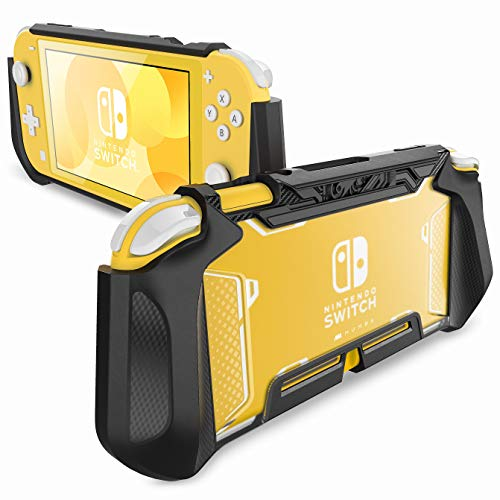 Mumba Griff Case für Nintendo Switch Lite Hülle [Blade Series] TPU Case Robust Schutzhülle Kompatibel mit Switch Lite Console 2019 Ausgabe (Schwarz)