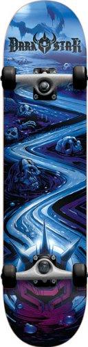 Darkstar, Skateboard completo Fp Death Trail 7.6 Zoll, Multicolore (multi color)