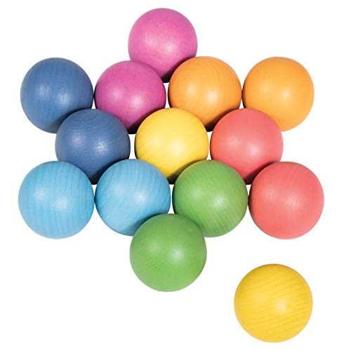 TickiT 73991 Rainbow - Bolas de madera...