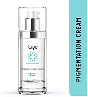 Kaya Clinic Pigmentation Reducing Complex, Fast absorbing Night cream for tanning & pigmentation marks, resistant spots , 30 ml